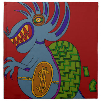The Money Snail Napkin