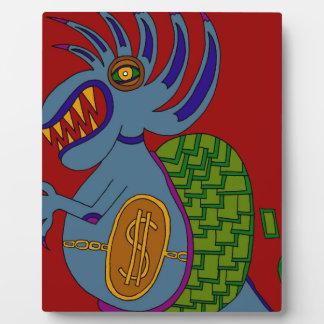 The Money Snail Plaque