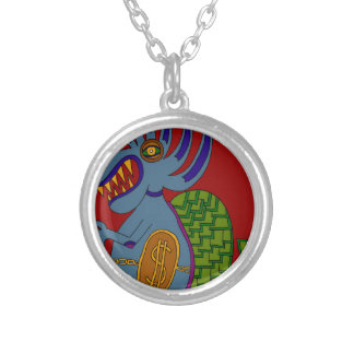 The Money Snail Silver Plated Necklace