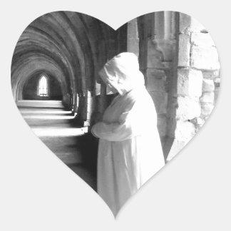 The Monk #1 Heart Sticker