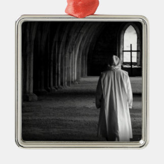 The Monk #2 Silver-Colored Square Decoration