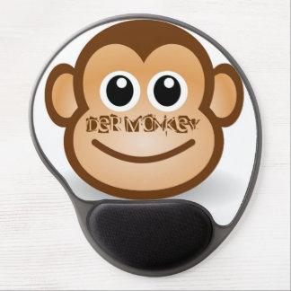 The Monkey gel Mousepad - merry ape