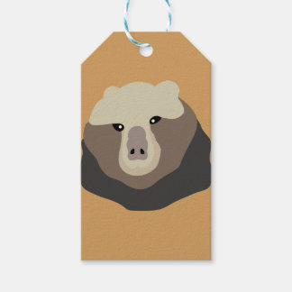 The Monkey Nosed Bear Gift Tags