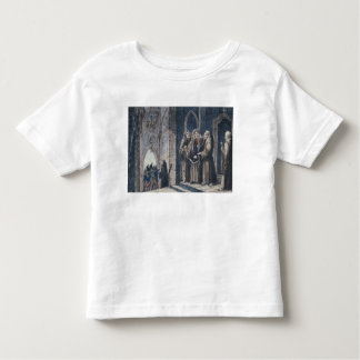 The Monks covering King with drape Camenz Convent Toddler T-Shirt
