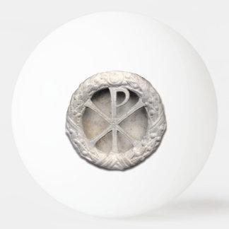 The Monogram of Christ Ping Pong Ball