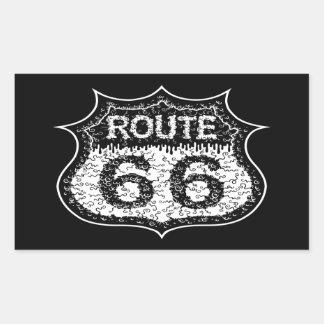 The Monster Road Rectangular Sticker
