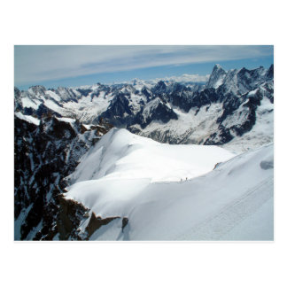 The Mont Blanc,France Postcard