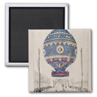 The Montgolfier Brothers' Balloon Experiment Magnet