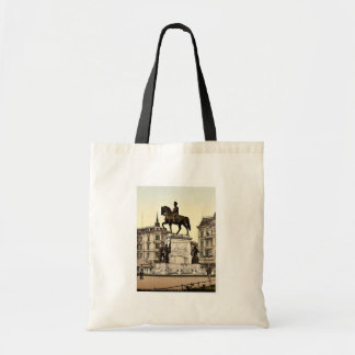 The Monument of Emperor William I, Stettin, German Canvas Bag