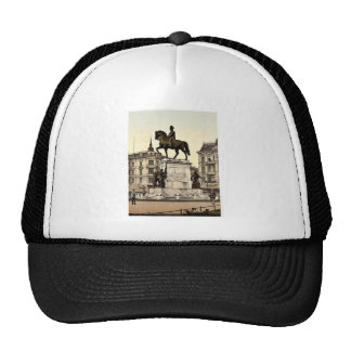 The Monument of Emperor William I, Stettin, German Hats