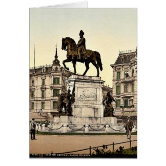 The Monument of Emperor William I, Stettin, German Card