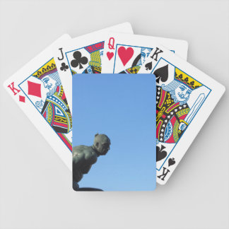 The monument Quattro Mori ( of the Four Moors ) Bicycle Playing Cards
