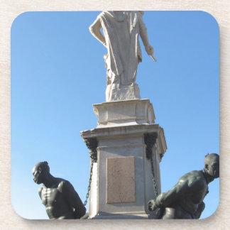 The monument Quattro Mori ( of the Four Moors ) Coaster