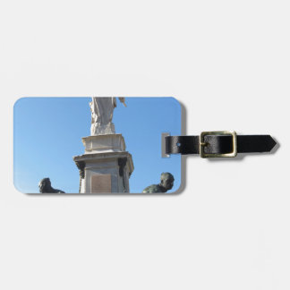 The monument Quattro Mori ( of the Four Moors ) Luggage Tag