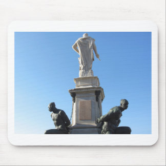 The monument Quattro Mori ( of the Four Moors ) Mouse Pad