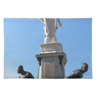 The monument Quattro Mori ( of the Four Moors ) Placemat