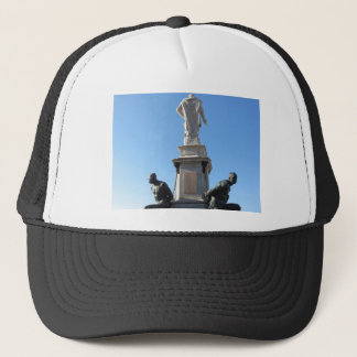 The monument Quattro Mori ( of the Four Moors ) Trucker Hat
