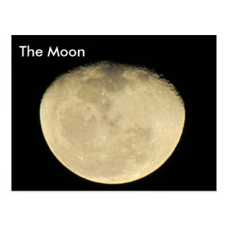 The Moon # 3 - Learning Postcard
