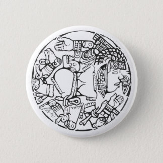 The moon - Amazing Mexico Button