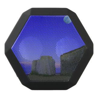 the moon and rocks black boombot rex bluetooth speaker