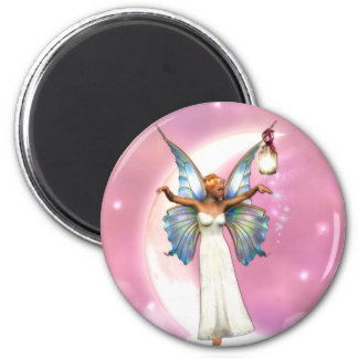The Moon Faery Magnet