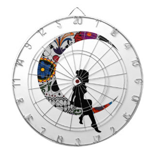 THE MOON GIRL DARTBOARD