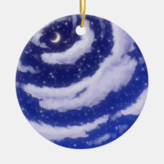 The Moon in the Sky Ornament