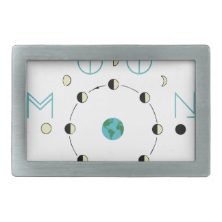 The Moon Phases Belt Buckle