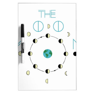 The Moon Phases Dry Erase Board