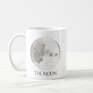 The Moon Planet Watercolor Mug