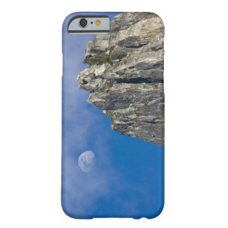 The moon rises and shines through the clouds barely there iPhone 6 case