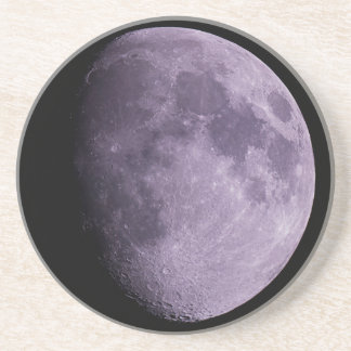 The Moon - Sandstone Drink Coaster