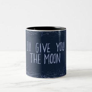 The Moon Two-Tone Coffee Mug