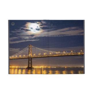 The moonrise tonight over the Bay Bridge Covers For iPad Mini