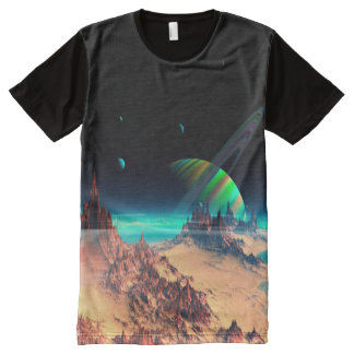 The Moons of Newerades 15 All-Over Print T-Shirt