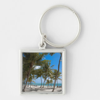 The Moorings Resort, Marathon, Key West, 2 Silver-Colored Square Key Ring