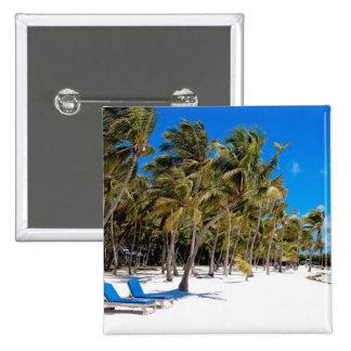 The Moorings Resort, Marathon, Key West, 3 15 Cm Square Badge