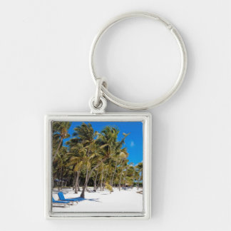 The Moorings Resort, Marathon, Key West, 3 Silver-Colored Square Key Ring