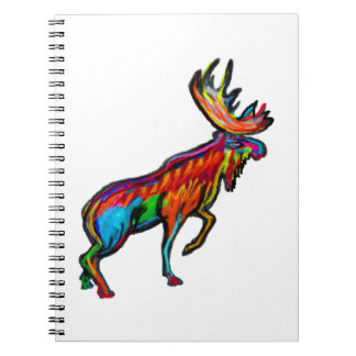 THE MOOSE STRIDE SPIRAL NOTEBOOK