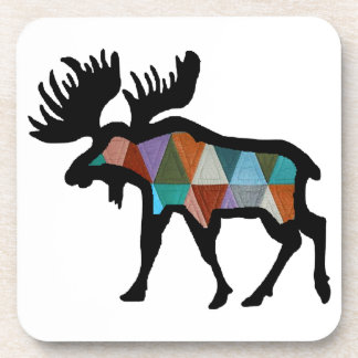THE MOOSE STRONG DRINK COASTERS
