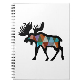 THE MOOSE STRONG SPIRAL NOTEBOOK