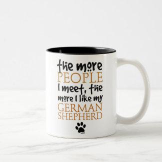 The More People I Meet ... Coffee Mug