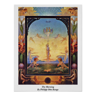 The Morning By Philipp Otto Runge Poster
