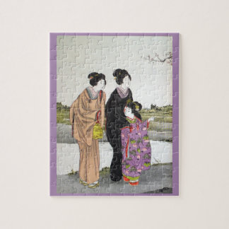 The Morning Walk Puzzle- Devoirs Series Jigsaw Puzzle