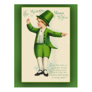 The Morn's Morn to You St. Patrick's Day Cards