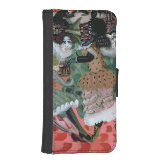 The Morte-Saison in Paris, 1913 iPhone SE/5/5s Wallet Case