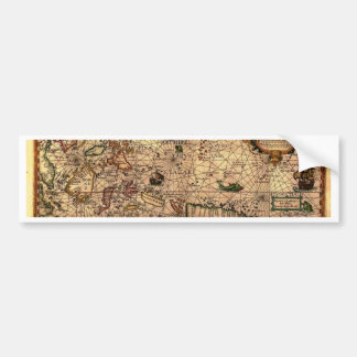 the most important hictoric Southeast Asia Map Bumper Sticker