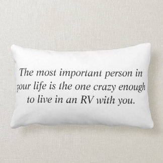 The Most Important Person Lumbar Cushion