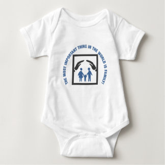 The Most Important Thing In The World Is Family Baby Bodysuit