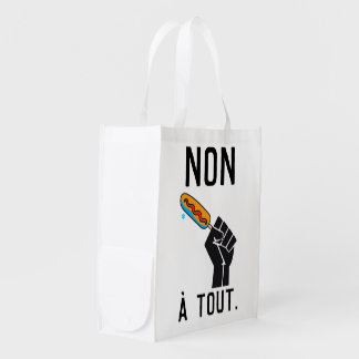 The most not thawed out limps Quebec humour Reusable Grocery Bag